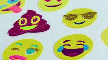 3D Cra-Z-Gels Sticker Art TV Spot, 'Deluxe Sticker Art'