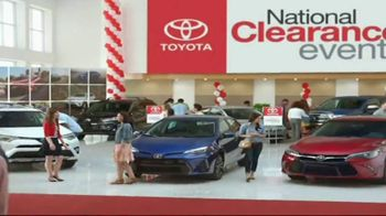Toyota National Clearance Event TV Spot, 'Could Be Yours: 2017 Tundra' - Thumbnail 1