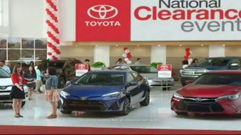 Toyota National Clearance Event TV Spot, 'Could Be Yours: 2017 Tundra' - Thumbnail 4