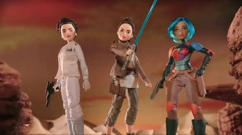 Star Wars: Forces of Destiny Adventure Figures TV Spot, 'Save the Universe'