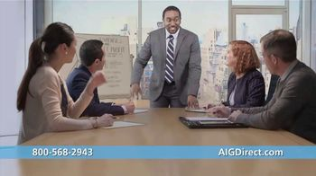 AIG Direct TV Spot, 'Work Hard' - Thumbnail 1