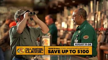 Bass Pro Shops Fall Hunting Classic TV Spot, 'Binoculars & Range Finders' - 147 commercial airings