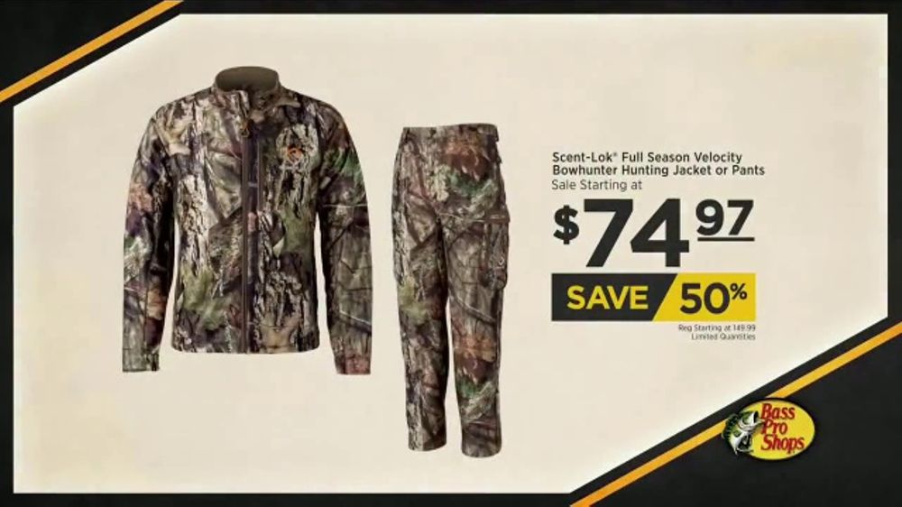 0486106bfd29d Bass Pro Shops Fall Hunting Classic TV Commercial, 'Hunting Jacket & Pants'