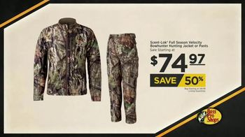 Bass Pro Shops Fall Hunting Classic TV Spot, 'Hunting Jacket & Pants'