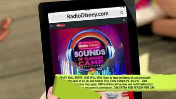 Radio Disney Sounds of Summer Camp Sweepstakes TV Spot, 'Cereal Box Band' - Thumbnail 7