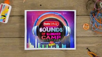 Radio Disney Sounds of Summer Camp Sweepstakes TV Spot, 'Cereal Box Band' - Thumbnail 3