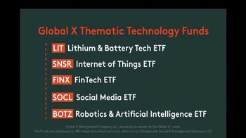 Global X Funds TV Spot, 'Thematic Technology Funds' - Thumbnail 4