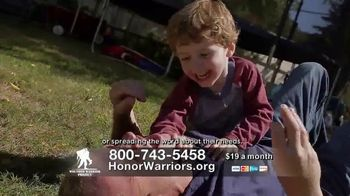 Wounded Warrior Project TV Spot, 'Blessed' - Thumbnail 6