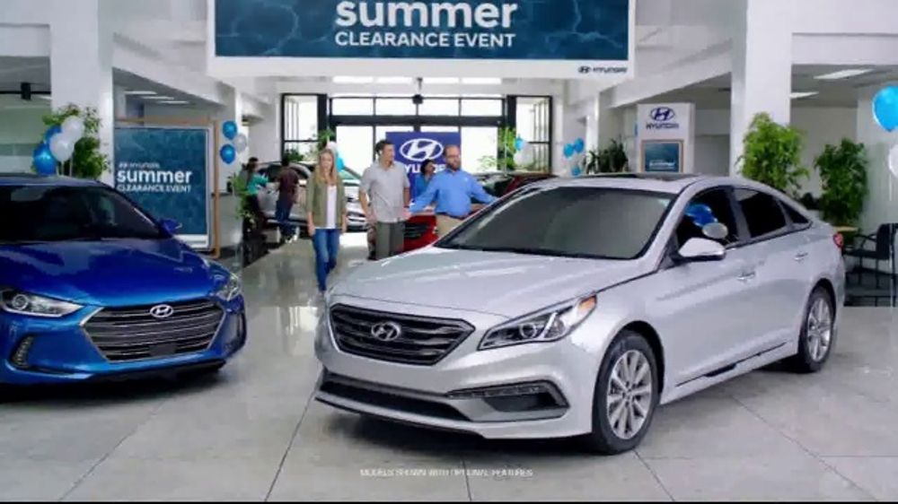 Hyundai Summer Clearance Event Tv Commercial Seriously