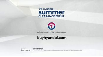 Hyundai Summer Clearance Event TV Spot, 'Seriously Great Deals' [T2] - Thumbnail 10