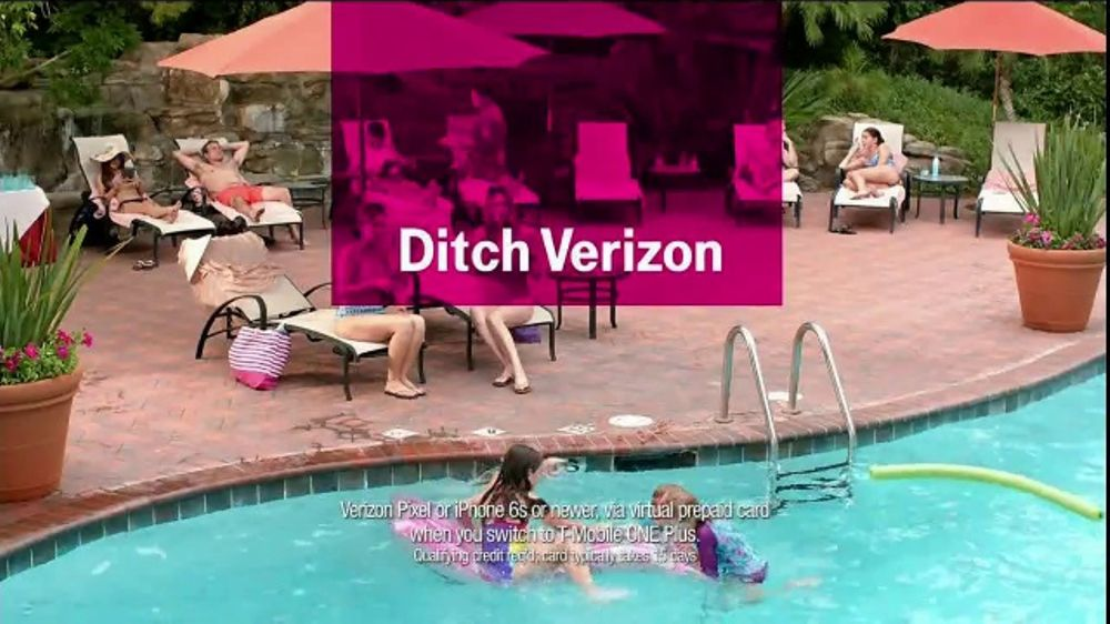 T-Mobile Tv Commercial, Turn Your Back On Verizon Song -4024