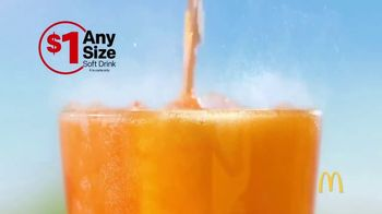 McDonald's $1 Any Size Soft Drink TV Spot, 'Summer Bucket List' - Thumbnail 2
