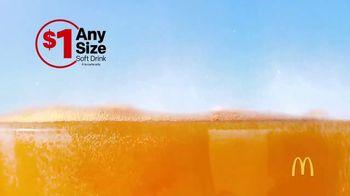 McDonald's $1 Any Size Soft Drink TV Spot, 'Summer Bucket List' - Thumbnail 3