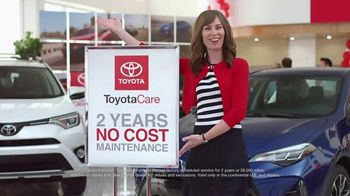 Toyota National Clearance Event TV Spot, 'ToyotaCare' [T1] - 1 commercial airings