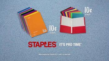 Staples TV Spot, 'Back to School Like a Champion: Ten Cent Deals' - Thumbnail 7
