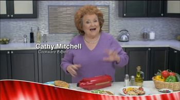 Red Copper 5 Minute Chef TV Spot, 'Kitchen Wonder' Featuring Cathy Mitchell - Thumbnail 1