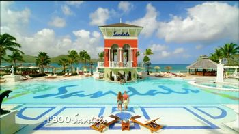 Sandals Resorts TV Spot, 'More Quality Inclusions' - Thumbnail 1