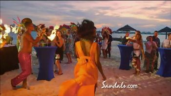 Sandals Resorts TV Spot, 'More Quality Inclusions' - Thumbnail 6
