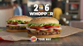 Burger King 2 for $6 Whopper Deal TV Spot, 'Surprise' - Thumbnail 10