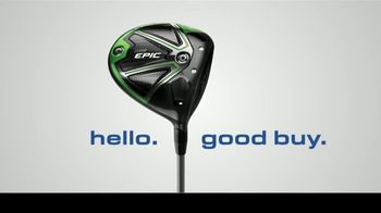 GlobalGolf.com TV Spot, 'Hello, Good Buy' - Thumbnail 2