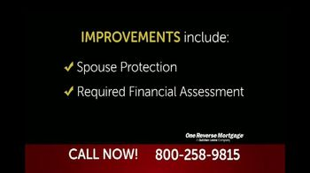 One Reverse Mortgage TV Spot, 'Attention Homeowners 62 and Older' - Thumbnail 2