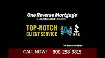 One Reverse Mortgage TV Spot, 'Attention Homeowners 62 and Older'