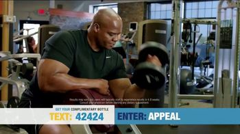 Nugenix TV Spot, 'Complimentary Bottle' Featuring Frank Thomas - 37 commercial airings