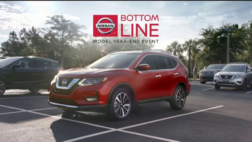 Nissan Bottom Line Sales Event TV Commercial, 'Car Buying ...
