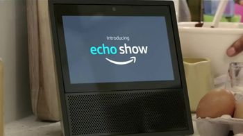 Amazon Echo Show TV Spot, 'Piece of Cake' - Thumbnail 1