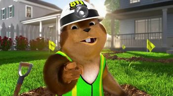 811 TV Spot, 'Gus the Gopher: Safe Digging'
