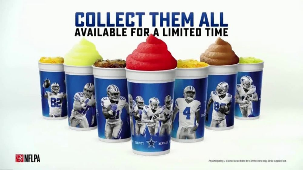 7-Eleven TV Commercial, 'Dallas Cowboys Collectible Cup'