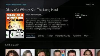 XFINITY On Demand TV Spot, 'X1: Diary of a Wimpy Kid: The Long Haul' - Thumbnail 9