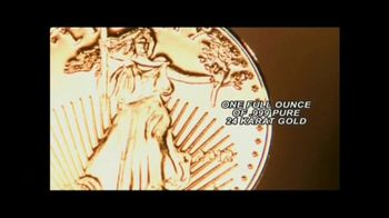 New England Mint Coins Saint Gaudens $50 Double Eagle TV Spot, 'Intricate' - Thumbnail 1