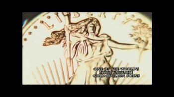 New England Mint Coins Saint Gaudens $50 Double Eagle TV Spot, 'Intricate' - Thumbnail 2