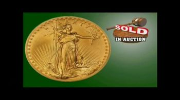 New England Mint Coins Saint Gaudens $50 Double Eagle TV Spot, 'Intricate' - Thumbnail 3