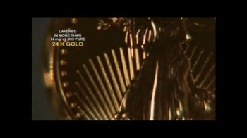 New England Mint Coins Saint Gaudens $50 Double Eagle TV Spot, 'Intricate' - Thumbnail 4