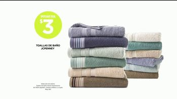 JCPenney Power Penney Days TV Spot, 'Toallas, camisetas y jeans' [Spanish] - Thumbnail 4