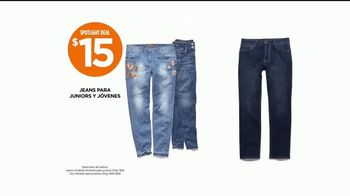 JCPenney Power Penney Days TV Spot, 'Toallas, camisetas y jeans' [Spanish] - Thumbnail 6