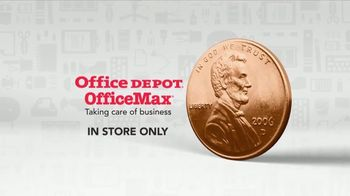 Office Depot One Cent Event TV Spot, 'Taking Care of Back to School' - Thumbnail 7