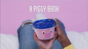 Ziploc TV Spot, \'More Than a Container: A Piggy Bank\'