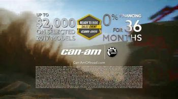 Can-Am Ready to Ride Sales Event TV Spot, 'Cash Rebates' - Thumbnail 10