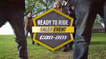 Can-Am Ready to Ride Sales Event TV Spot, 'Cash Rebates' - Thumbnail 2
