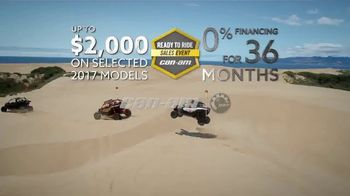 Can-Am Ready to Ride Sales Event TV Spot, 'Cash Rebates' - Thumbnail 9