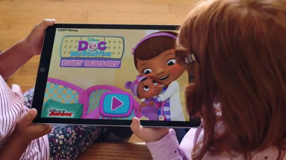 Baby Toy Commercial : Disney doc mcstuffins baby nursery tv commercial toy