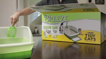 Purina Tidy Cats Breeze TV Spot, 'A Clean Routine'