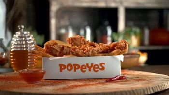 Popeyes Hot Honey Crunch Tenders TV Spot, 'TV One: Fun in the Sun' - 2 commercial airings
