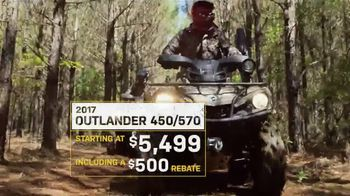 Can-Am Yellow Tag Event TV Spot, 'Outlander 450' - Thumbnail 5