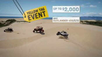 Can-Am Yellow Tag Event TV Spot, 'Outlander 450' - Thumbnail 6