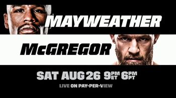 Fios by Verizon Pay-Per-View TV Spot, 'Mayweather vs. McGregor: Sweeps' - Thumbnail 4