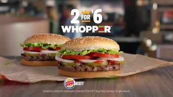 Burger King 2 for $6 Whopper Deal TV Spot, 'Figaro' - Thumbnail 7